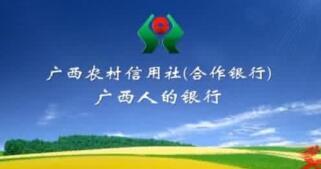广西农村信用社理事长韦家干、主任李燕、唐诚希、欧泽馨等领导班子